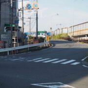 横浜新道上矢部インターまで  (365m)