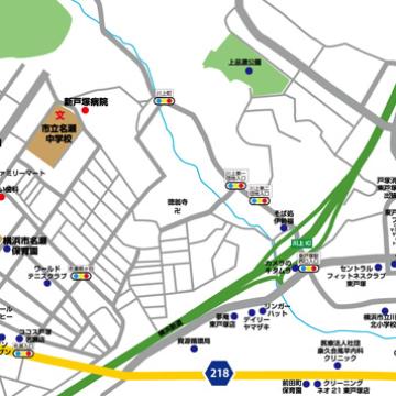 RKT東戸塚Ⅹ_地図