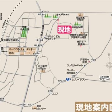 RKT東戸塚Ⅷ_地図
