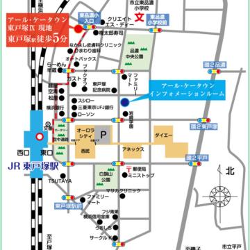 RKT東戸塚Ⅸ_地図