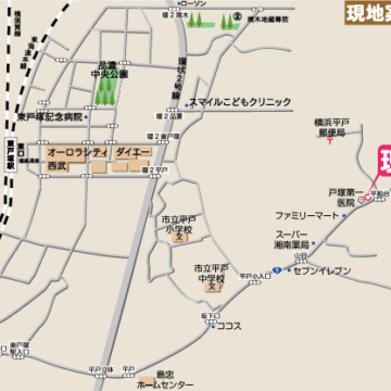 RKT東戸塚Ⅶ_地図